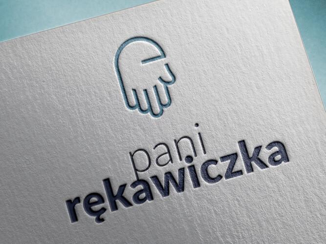 logo projektowanie pani rekawiczka logotyp studiograficzne dsnstudio logofirmowe 2